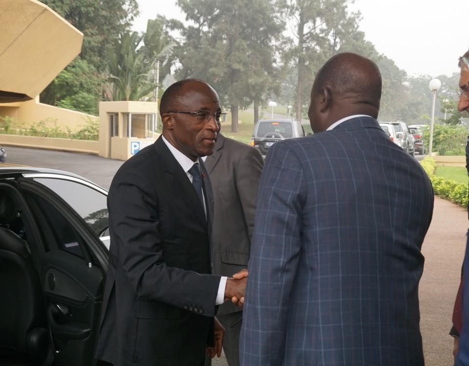 Visite ministre Adama Koné